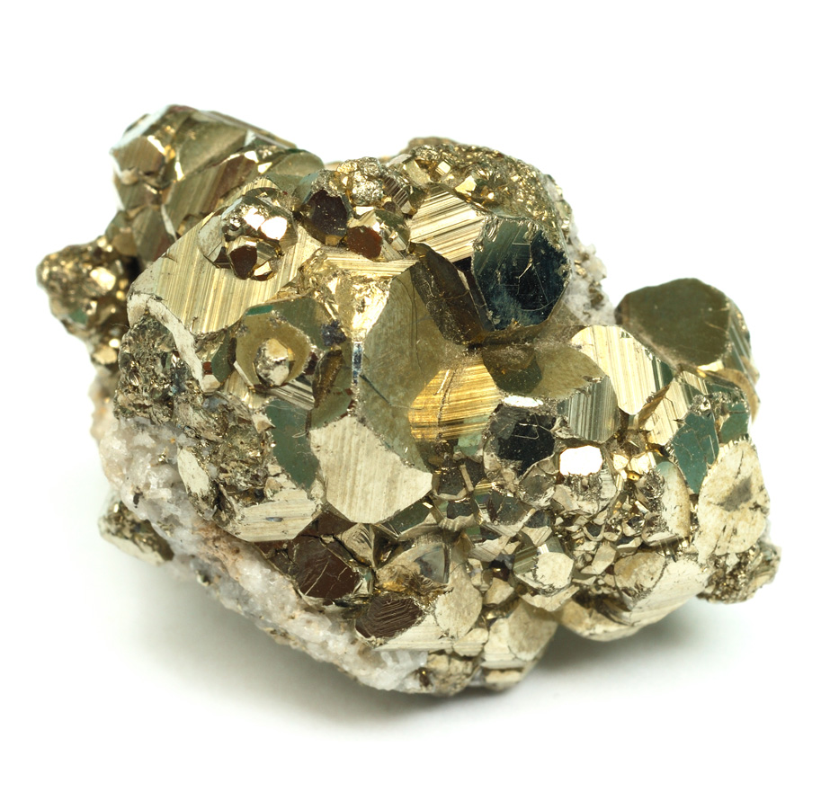 Iron pyrite mineral
