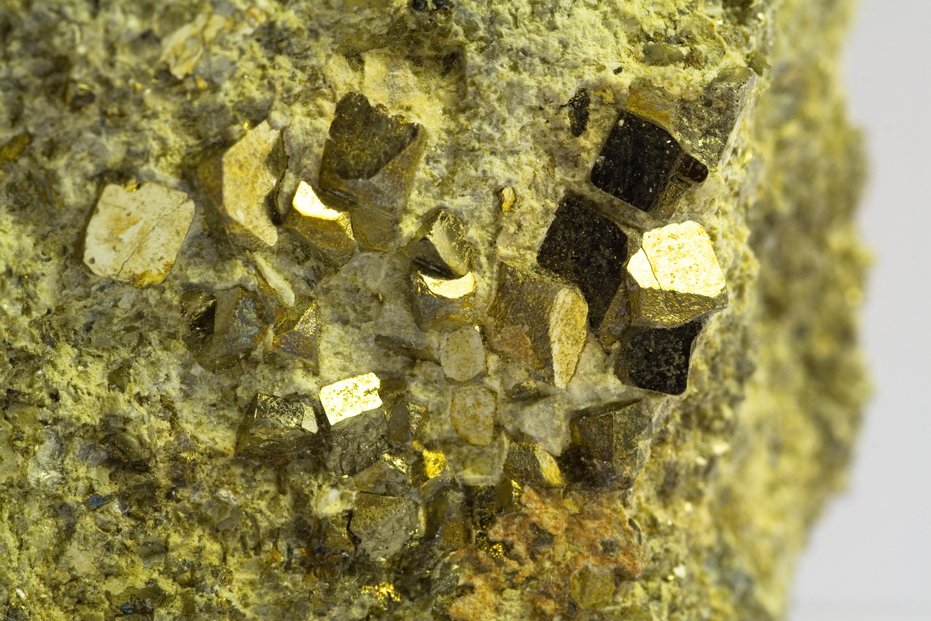 pyrite-crystals