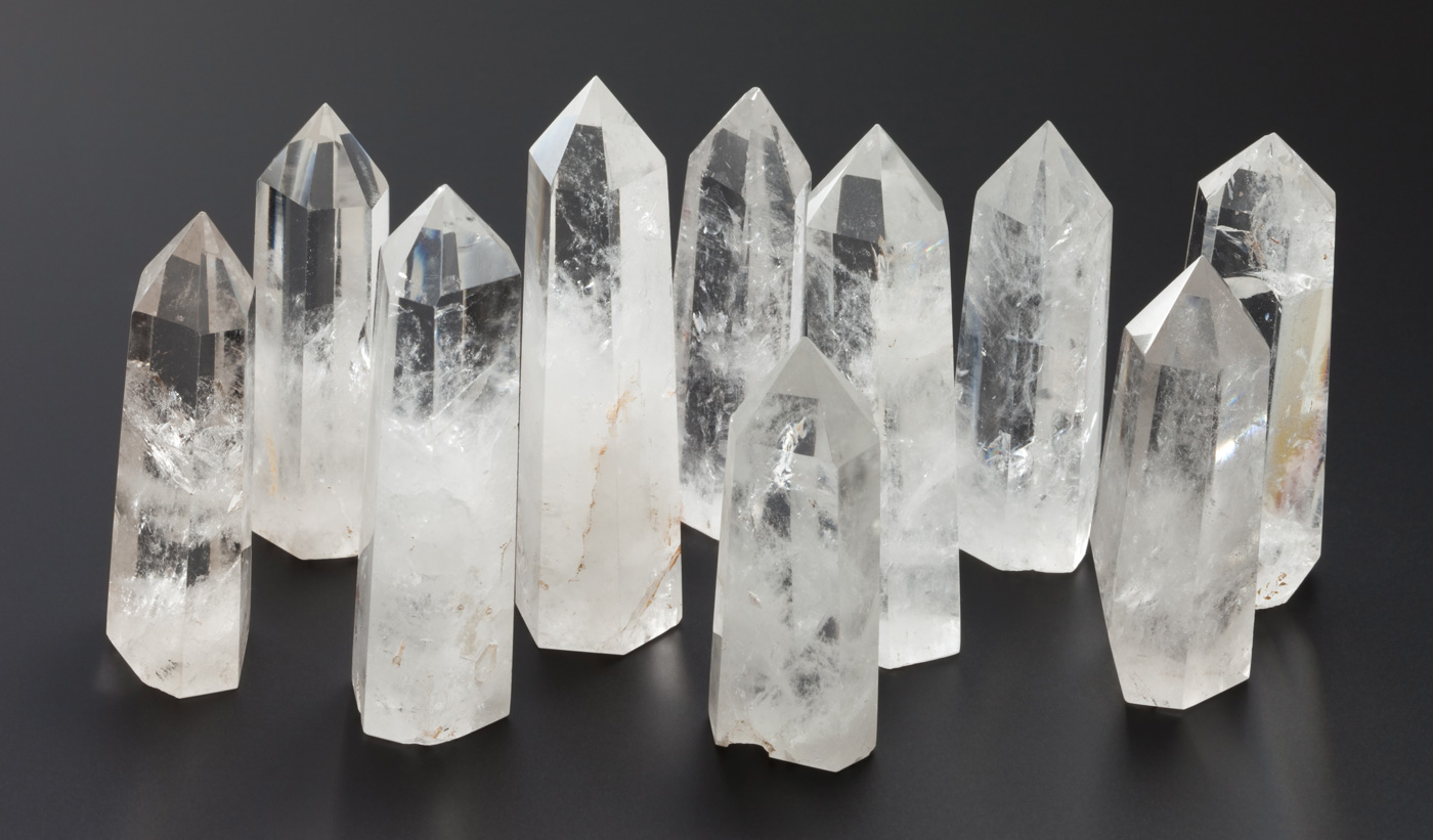 Rock Crystal prisms